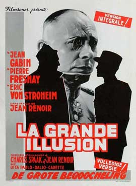 Grand Illusion - 11 x 17 Movie Poster - French Style C