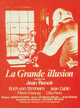 Grand Illusion - 11 x 17 Movie Poster - French Style E