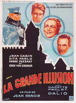 Grand Illusion - 11 x 17 Movie Poster - French Style F