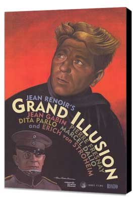 Grand Illusion - 27 x 40 Movie Poster - Style B - Museum Wrapped Canvas