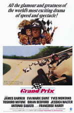 Grand Prix - 11 x 17 Movie Poster - Style A
