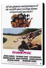 Grand Prix - 11 x 17 Movie Poster - Style A - Museum Wrapped Canvas