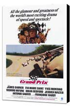 Grand Prix - 27 x 40 Movie Poster - Style A - Museum Wrapped Canvas