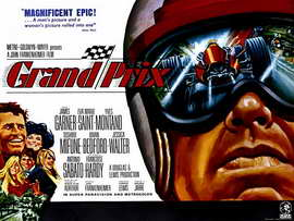 Grand Prix - 11 x 17 Movie Poster - Style B