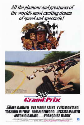 Grand Prix - 27 x 40 Movie Poster - Style A