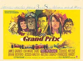 Grand Prix - 11 x 14 Poster French Style A