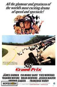 Grand Prix - 43 x 62 Movie Poster - Bus Shelter Style A