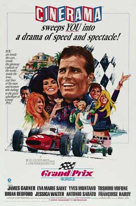 Grand Prix - 27 x 40 Movie Poster - Style B