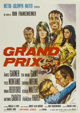 Grand Prix - 11 x 17 Movie Poster - Italian Style A