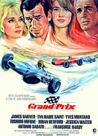 Grand Prix - 43 x 62 Movie Poster - Spanish Style A