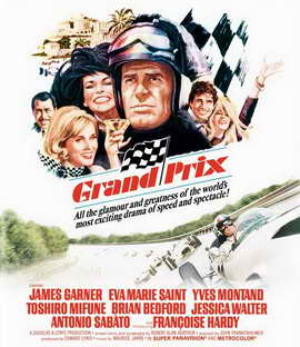 Grand Prix - 11 x 17 Movie Poster - Style D