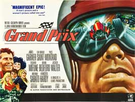 Grand Prix - 11 x 14 Movie Poster - Style A