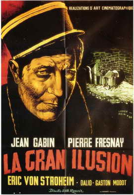 Grande Illusion - 11 x 17 Movie Poster - Spanish Style A