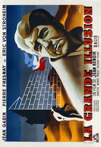 Grande Illusion - 27 x 40 Movie Poster - French Style D