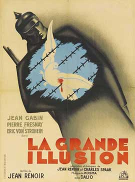 Grande Illusion - 11 x 17 Movie Poster - French Style F