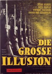 Grande Illusion - 11 x 17 Movie Poster - German Style G