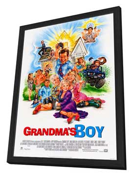 Grandma's Boy - 27 x 40 Movie Poster - Style A - in Deluxe Wood Frame