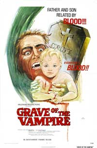 Grave of the Vampire - 11 x 17 Movie Poster - Style A