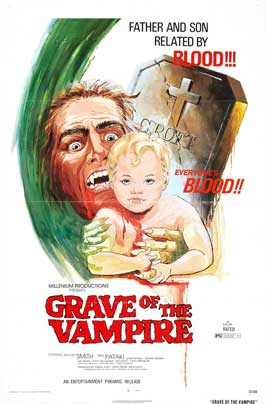Grave of the Vampire - 27 x 40 Movie Poster - Style A