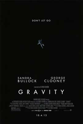 Gravity - DS 1 Sheet Movie Poster - Style B