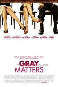 Gray Matters - 43 x 62 Movie Poster - Bus Shelter Style A