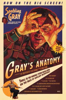 Gray's Anatomy - 11 x 17 Movie Poster - Style A