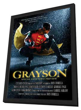 Grayson - 11 x 17 Movie Poster - Style A - in Deluxe Wood Frame