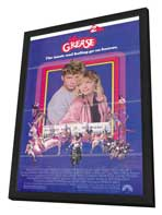 Grease 2 - 11 x 17 Movie Poster - Style A - in Deluxe Wood Frame