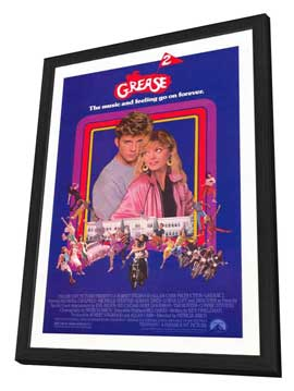 Grease 2 - 27 x 40 Movie Poster - Style B - in Deluxe Wood Frame