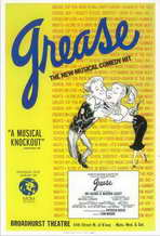 Grease (Broadway) - 11 x 17 Poster - Style A
