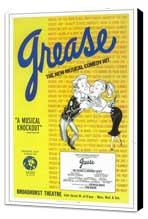 Grease (Broadway) - 11 x 17 Poster - Style A - Museum Wrapped Canvas