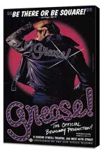 Grease (Broadway) - 27 x 40 Poster - Style A - Museum Wrapped Canvas