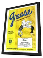 Grease (Broadway) - 11 x 17 Poster - Style A - in Deluxe Wood Frame