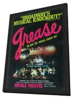 Grease (Broadway) - 11 x 17 Poster - Style B - in Deluxe Wood Frame