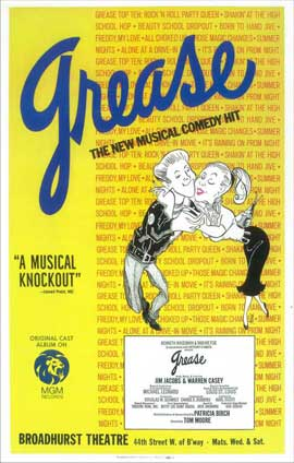 Grease (Broadway) - 14 x 22 Poster - Style A