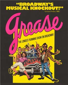 Grease (Broadway) - 14 x 22 Poster - Heavy Stock