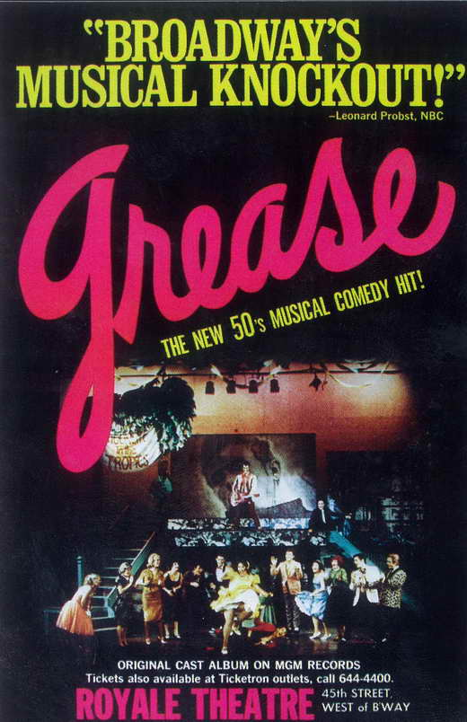 grease broadway: