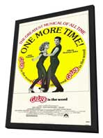 Grease - 27 x 40 Movie Poster - Style B - in Deluxe Wood Frame