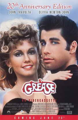 Grease - 11 x 17 Movie Poster - Style B