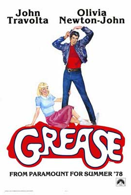 Grease - 27 x 40 Movie Poster - Style D