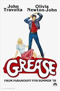 Grease - 43 x 62 Movie Poster - Bus Shelter Style B
