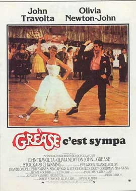 Grease - 11 x 17 Movie Poster - French Style B