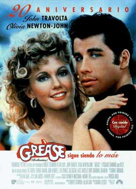 Grease - 11 x 17 Movie Poster - Spanish Style A