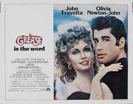 Grease - 22 x 28 Movie Poster - Half Sheet Style A