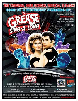 Grease - 11 x 17 Movie Poster - Style G