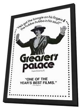 Greasers Palace - 11 x 17 Movie Poster - Style A - in Deluxe Wood Frame