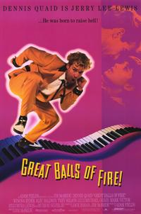 Great Balls of Fire - 11 x 17 Movie Poster - Style A