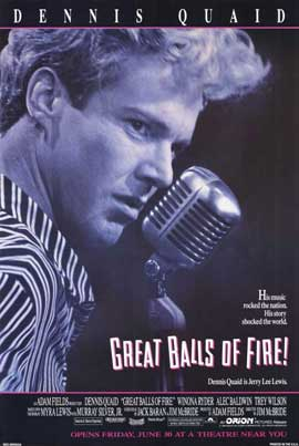 Great Balls of Fire - 11 x 17 Movie Poster - Style C