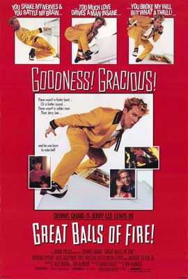 Great Balls of Fire - 27 x 40 Movie Poster - Style B