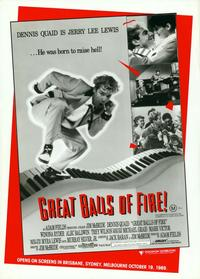 Great Balls of Fire - 11 x 17 Movie Poster - Style D